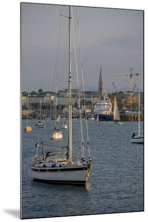 Harbour at Dun Laoghaire, a Suburb of Dublin-Tim Thompson-Mounted Photographic Print