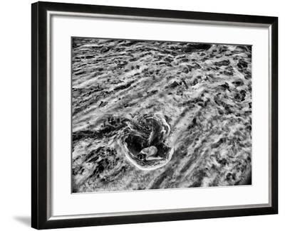 A Dancer in the Surf on a Remote Beach at Tortuguero National Park-Kike Calvo-Framed Photographic Print