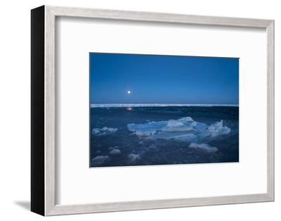 Diminishing Pack Ice in the Gulf of Saint Lawrence-Cristina Mittermeier-Framed Photographic Print