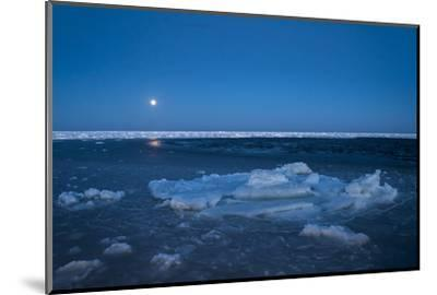 Diminishing Pack Ice in the Gulf of Saint Lawrence-Cristina Mittermeier-Mounted Photographic Print