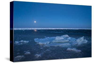Diminishing Pack Ice in the Gulf of Saint Lawrence-Cristina Mittermeier-Stretched Canvas Print