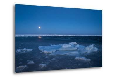 Diminishing Pack Ice in the Gulf of Saint Lawrence-Cristina Mittermeier-Metal Print