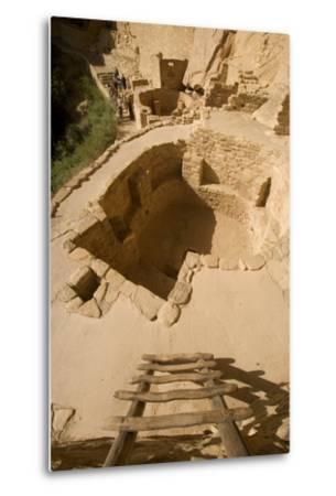 The Ruins of a Cliff Dwelling, Cliff Palace, in Mesa Verde National Park-Phil Schermeister-Metal Print