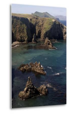 Cathedral Cove on Anacapa Island in Channel Islands National Park-Phil Schermeister-Metal Print