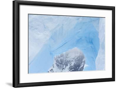 A Close Up of an Iceberg Near Cuverville Island, Antarctica-Ralph Lee Hopkins-Framed Photographic Print