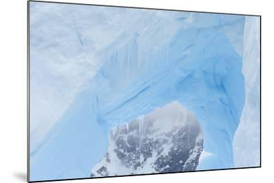 A Close Up of an Iceberg Near Cuverville Island, Antarctica-Ralph Lee Hopkins-Mounted Photographic Print