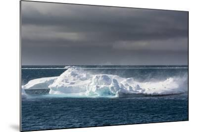 Wind Blowing over the Top of an Iceberg-Sergio Pitamitz-Mounted Photographic Print
