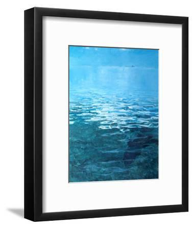 Crooked Island No.2, Floating Island-Stanley Meltzoff-Framed Photographic Print