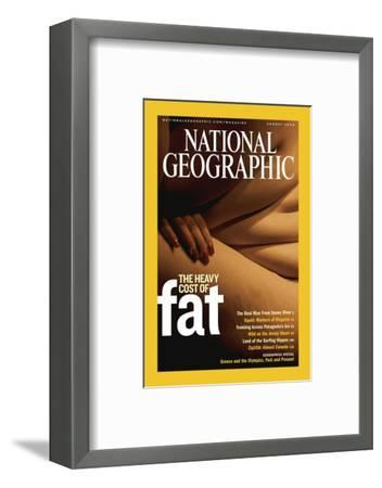 Cover of the August, 2004 National Geographic Magazine-Karen Kasmauski-Framed Photographic Print
