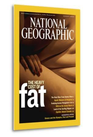Cover of the August, 2004 National Geographic Magazine-Karen Kasmauski-Metal Print