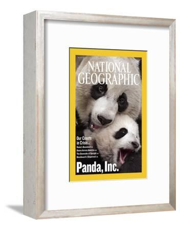 Cover of the July, 2006 National Geographic Magazine-Michael Nichols-Framed Photographic Print