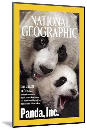 Cover of the July, 2006 National Geographic Magazine-Michael Nichols-Mounted Photographic Print
