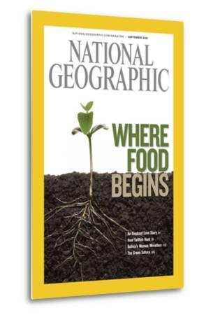 Cover of the September, 2008 National Geographic Magazine-Mark Thiessen-Metal Print