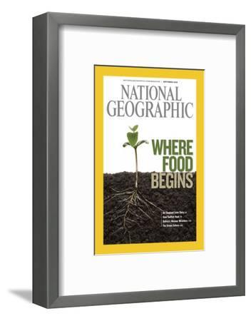 Cover of the September, 2008 National Geographic Magazine-Mark Thiessen-Framed Photographic Print