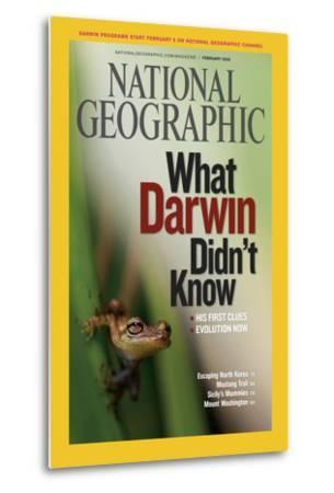 Cover of the February, 2009 National Geographic Magazine-Mattias Klum-Metal Print