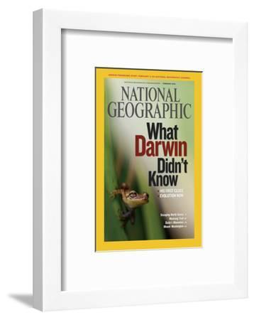 Cover of the February, 2009 National Geographic Magazine-Mattias Klum-Framed Photographic Print