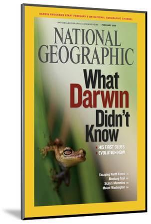 Cover of the February, 2009 National Geographic Magazine-Mattias Klum-Mounted Photographic Print