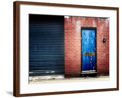 Derelict Door with Graffiti-Clive Nolan-Framed Photographic Print