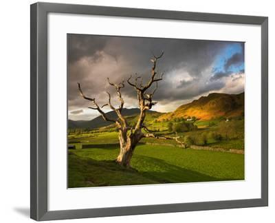 Leere-David Baker-Framed Photographic Print