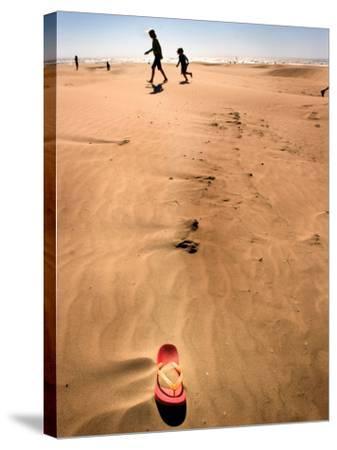 Shoremob-Craig Satterlee-Stretched Canvas Print