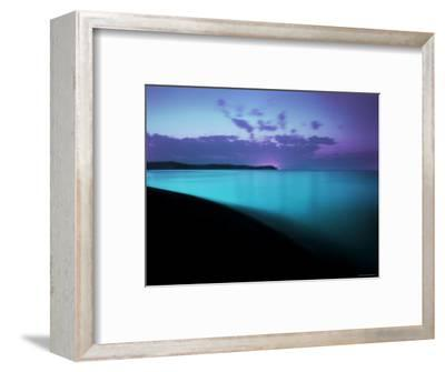 Glowing Turquoise Blue Waters-Jan Lakey-Framed Photographic Print