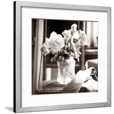 Study of Floral Arrangement-Edoardo Pasero-Framed Photographic Print