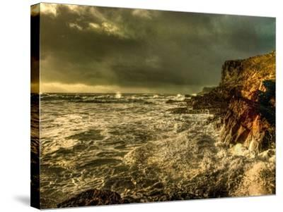 Raging Skies-Mark Gemmell-Stretched Canvas Print
