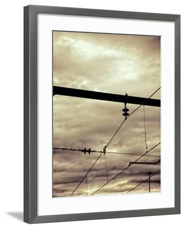 Power Lines-Steve Allsopp-Framed Photographic Print