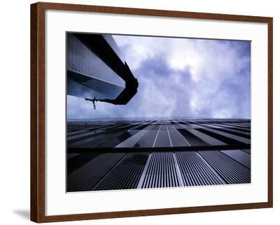 Freedom Tower and Wtc 7, Manhattan, New York City-Sabine Jacobs-Framed Photographic Print