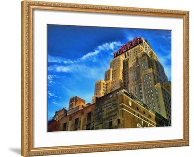 The New Yorker Hotel, New York City-Sabine Jacobs-Framed Photographic Print
