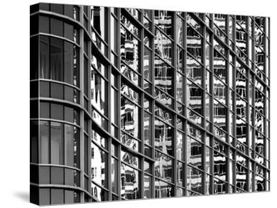 Reflections in Windows-Rip Smith-Stretched Canvas Print