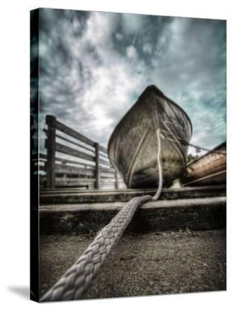 Row Boat-Stephen Arens-Stretched Canvas Print