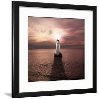 The Keeper of the Light-Luis Beltran-Framed Photographic Print