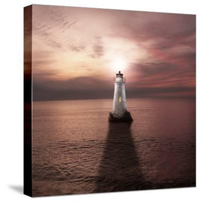The Keeper of the Light-Luis Beltran-Stretched Canvas Print
