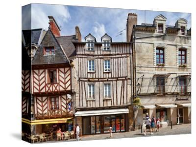 Views of Brittany, France-Felipe Rodriguez-Stretched Canvas Print