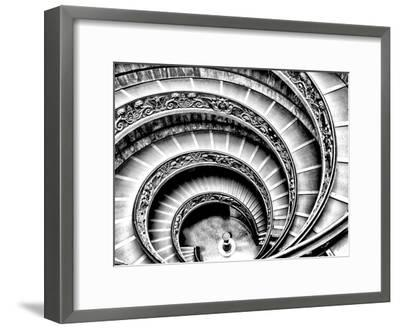 Spiral Staircase-Andrea Costantini-Framed Premium Photographic Print