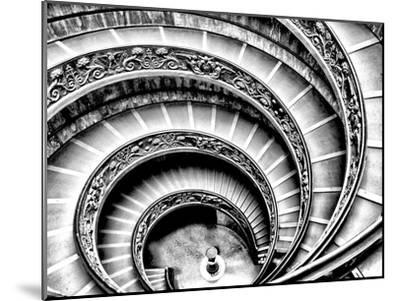 Spiral Staircase-Andrea Costantini-Mounted Premium Photographic Print