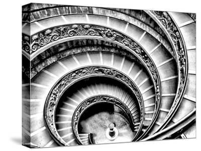 Spiral Staircase-Andrea Costantini-Stretched Canvas Print