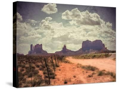 Monument Valley-Andrea Costantini-Stretched Canvas Print