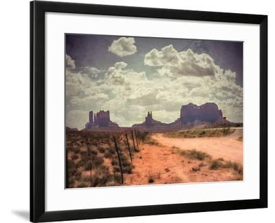 Monument Valley-Andrea Costantini-Framed Photographic Print