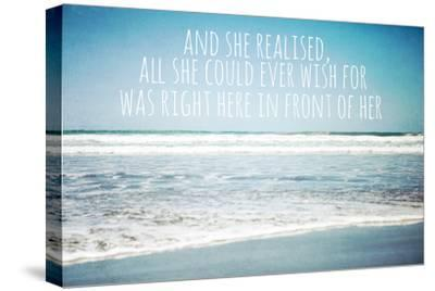 And She Realised, All She Could Ever Wish for Was Right Here in Front of Her-Susannah Tucker-Stretched Canvas Print