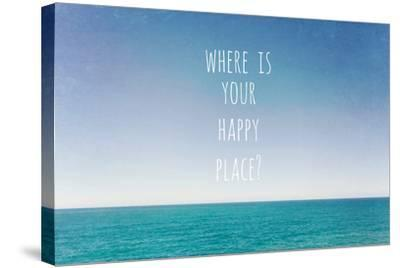 Where Is Your Happy Place-Susannah Tucker-Stretched Canvas Print