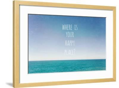 Where Is Your Happy Place-Susannah Tucker-Framed Photographic Print