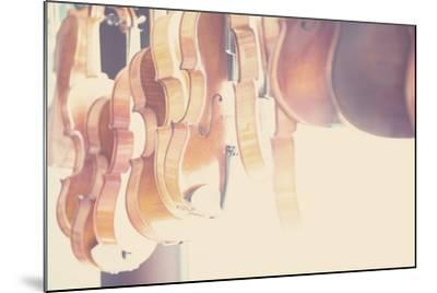 The Violin-Laura Evans-Mounted Photographic Print