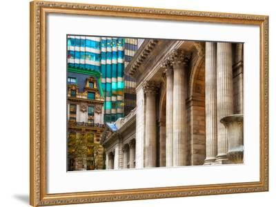 The New York Public Library, Bryant Park, Manhattan, New York Ci-Sabine Jacobs-Framed Photographic Print