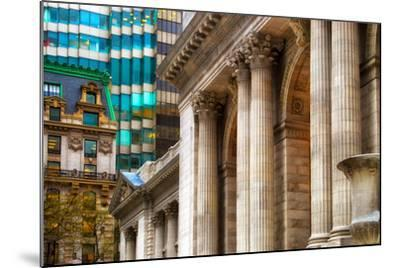 The New York Public Library, Bryant Park, Manhattan, New York Ci-Sabine Jacobs-Mounted Photographic Print
