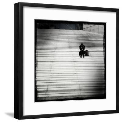 Texting-Craig Roberts-Framed Photographic Print