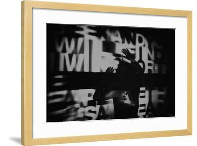 Abstract Image of Female Figure-Rory Garforth-Framed Photographic Print