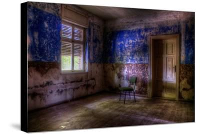 Abandoned Room Interior-Nathan Wright-Stretched Canvas Print