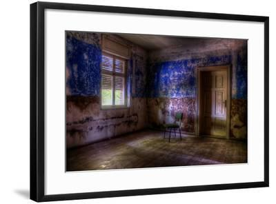 Abandoned Room Interior-Nathan Wright-Framed Photographic Print